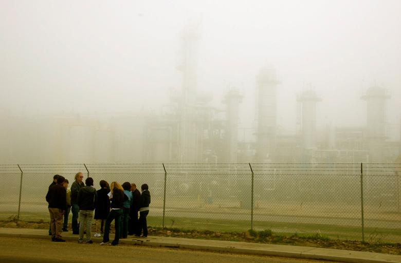 Pixley Ethanol Plant, CA. January 30, 2009