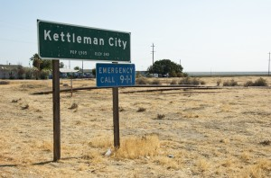 KettlemanCitySign